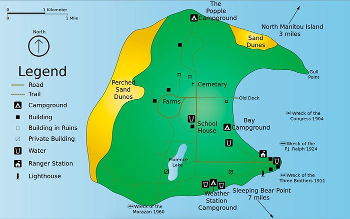 south-manitou-island-map