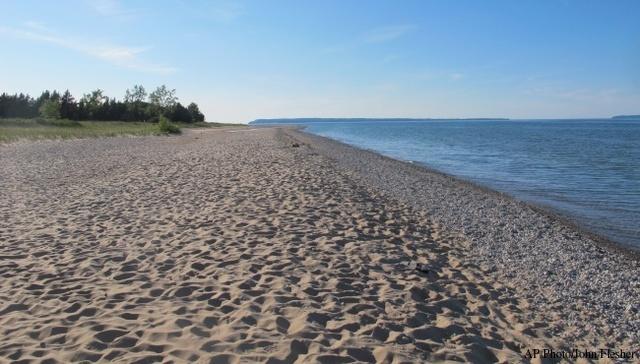 Lake Michigan at Sleeping Bear Dunes. (2011 file)